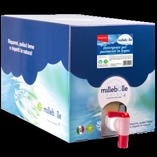 Immagine di DETERGENTE PAVIMENTI LEGNO - ecobox 10Kg rubinetto