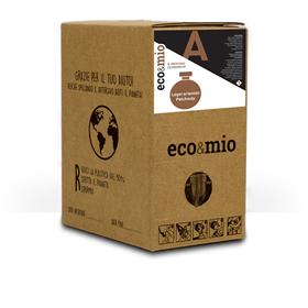 Immagine di ECO&MIO PROFUMO LEGNI ORIENTALI PATCHOULY - ecobox 2Kg rubinetto (160lav)