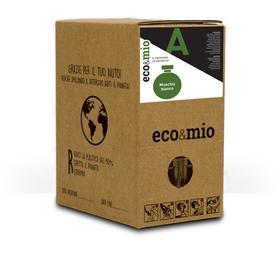 Immagine di ECO&MIO PROFUMO MUSCHIO BIANCO - ecobox 2Kg rubinetto (160lav)